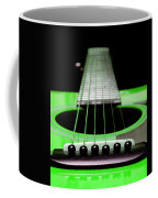 Neon Green Guitar 18 Coffee Mug