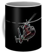 Neon Helo - Digital Art Coffee Mug