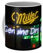 Neon Miller Beer Coffee Mug
