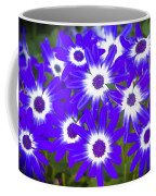Neon Purple Cineraria Coffee Mug