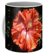 Neon-red Hibiscus 6-17 Coffee Mug