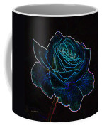 Neon Rose 3 Coffee Mug