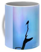 Neon Silhouette Coffee Mug