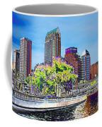 Neon Tampa Coffee Mug