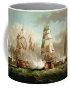 Neptune Engaging Trafalgar Coffee Mug by J Francis Sartorius