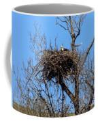 Nesting Bald Eagle Coffee Mug