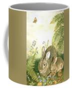 Nesting Bunnies Coffee Mug