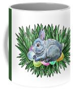Nesting Easter Bunny Coffee Mug