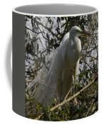Nesting Egret Coffee Mug