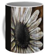 Neutral Sunflower Coffee Mug