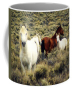 Nevada Wild Horses Coffee Mug