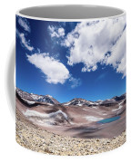 Nevado Ojos Del Salado And Laguna Negra Coffee Mug