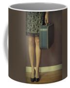 Never To Look Back Coffee Mug by Evelina Kremsdorf