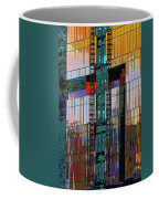 New Building Reflecting Colors Coffee Mug