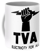 New Deal: Tva Symbol Coffee Mug