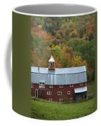 New England Barn Coffee Mug