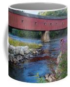 New England Covered Bridge Connecticut Coffee Mug