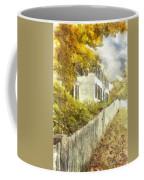 New England Fall Foliage Pencil Coffee Mug