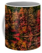 New England Fall Foliage Reflection Coffee Mug