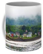 Granville Ferry Nova Scotia Canada  Fog Lifting Coffee Mug
