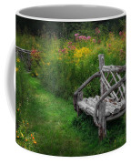 New England Summer Rustic Coffee Mug