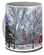 New England Winter Coffee Mug