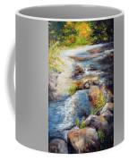 New Hampshire Creek In Fall Coffee Mug