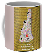 New Hampshire Loves Dogs Coffee Mug