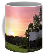 New Jersey Barn Sunset Coffee Mug