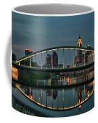 New Main Street Bridge At Dusk - Columbus, Ohio Coffee Mug
