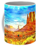 New Mexico Beautiful Desert - Pa Coffee Mug