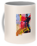 New Mexico Map Art - Painted Map Of New Mexico Coffee Mug