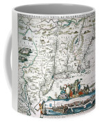 New Netherland Map Coffee Mug