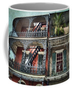 New Orleans Balconies No. 4 Coffee Mug