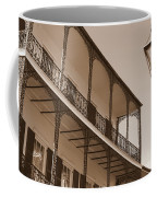 New Orleans Balcony With Lamp Coffee Mug