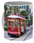 New Orleans Canal Streetcars  Coffee Mug