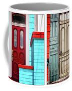 New Orleans Doorways Diptych One Coffee Mug