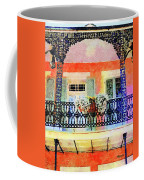 New Orleans French Quarter Balcony Coffee Mug