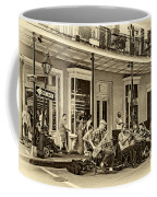 New Orleans Jazz 2 - Sepia Coffee Mug