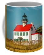 New Paint On East Point Lighthouse Coffee Mug