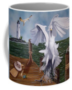 New Point Egret Coffee Mug