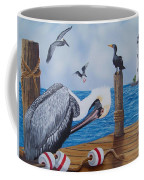 New Point Pelican Coffee Mug