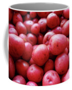New Red Potatoes For Sale In A Market Coffee Mug
