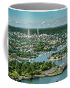 New Rochelle From The Long Island Sound Coffee Mug