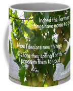 New Things Scripture Coffee Mug