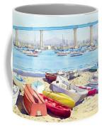 New Tidelands Park Coronado Coffee Mug by Mary Helmreich