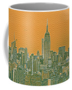 New Tork City Ny Travel Poster 4 Coffee Mug
