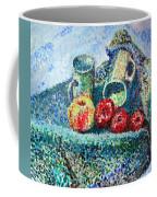 New Work Painted In Pointillism  Coffee Mug