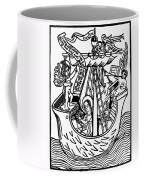 New Year Card, 1450 Coffee Mug