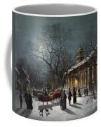 New Years Eve, C1876 Coffee Mug by Granger